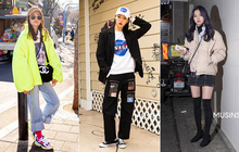 """Street style giới trẻ Hàn tuần qua chính là nguồn cảm hứng bất tận cho các cô nàng """"anti"""" phong cách bánh bèo"""
