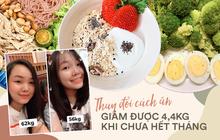 Cô bạn người Sài Gòn giảm cân nhanh trong 1 tháng, mặt nhỏ gọn lại nhờ thay đổi cách ăn truyền thống