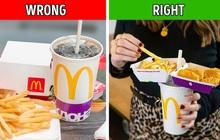 """Hóa ra đây mới là cách ăn fastfood đúng mà lâu nay chúng ta đã không biết, nhưng nó tồn tại nhược điểm có thể khiến bạn """"giận tím người"""""""