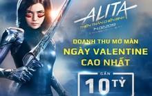"""Nữ chiến binh """"Alita"""" trở thành phim có doanh thu mở màn ngày Valentine cao nhất với gần 10 tỉ đồng"""