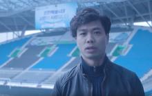 Công Phượng gửi lời nhắn đầu tiên đến người hâm mộ Incheon United trong ngày tuyết rơi trắng trời
