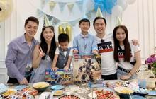 Dương Khắc Linh cùng bạn gái đến tiệc mừng quý tử nhà Đăng Khôi - Thủy Anh tròn 7 tuổi