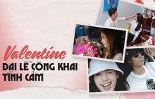 Valentine năm nay chính là đại lễ công khai tình cảm, đến những người kín tiếng nhất cũng nhập cuộc
