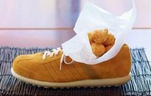 """Dở khóc dở cười với những cách trình bày món ăn siêu """"dị"""" của các nhà hàng nước ngoài, có nơi dùng cả giày để đựng thức ăn"""