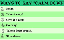18 cách nói Hãy bình tĩnh trong Tiếng Anh để giúp chính bạn cũng như người khác hạ hoả