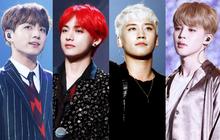 BXH idol nam hot nhất Kpop: BTS chiếm top đầu, Seungri dính phốt vẫn hot, Wanna One mất hút đã hoàn toàn mất hút
