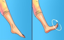 Cách mát-xa chân sau một ngày dài nhức mỏi