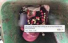 """Hậu Valentine: Khi bạn nhận ra đến thùng rác còn được """"tặng"""" hoa và socola còn mình thì... không!"""