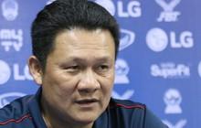 """HLV Nguyễn Quốc Tuấn: """"Hai cầu thủ dự bị ghi bàn đều nằm trong tính toán của chúng tôi"""""""