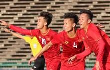 Những khoảnh khắc ăn mừng đầy cảm xúc của U22 Việt Nam sau màn ngược dòng trước U22 Philippines