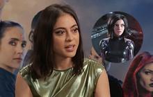 """Clip phỏng vấn """"Thiên thần chiến binh Alita"""": Rosa Salazar không thích làm siêu anh hùng nhờ siêu năng lực"""
