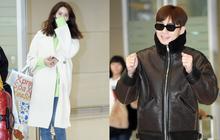 """Màn đọ dáng tại sân bay gây thất vọng: Yoona """"dẹo"""" người vì chân cong, Park Seo Joon già nua bất ngờ"""
