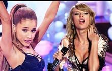 "Vừa ""vượt mặt"" Taylor Swift ở Grammy, Ariana Grande lại tiếp tục ""san bằng tỉ số"" tại Billboard 200"