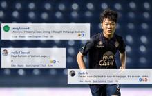 """Fan Xuân Trường đổ bộ fanpage Buriram United, fan Thái ngỡ ngàng: """"Tôi tưởng mình vào nhầm trang"""""""