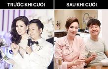 """Nhìn chồng Mai Ngọc sau 3 năm kết hôn phải công nhận rằng: Lấy vợ là con đường """"phá sắc"""" nhanh nhất!"""
