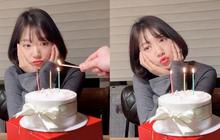 """Park Shin Hye """"hack tuổi"""" khó tin trong loạt ảnh sinh nhật thứ 29, nhưng netizen lại chú ý vào bàn tay của người thắp nến"""