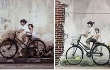 Bức tranh tường nổi tiếng của Penang khi về đến Việt Nam bỗng khiến người xem khóc thét