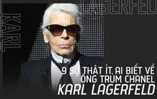 9 điều ít người biết về cuộc sống riêng tư của huyền thoại thời trang Karl Lagerfeld