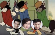 Chuyện buồn cười này sẽ xảy ra khi dàn nam thần nhà bạn đã lầy lại còn mê Tom và Jerry!