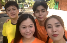 """Quay clip chúc mừng bạn thân S.T Sơn Thạch, Lan Ngọc vô tình tiết lộ bộ sậu """"Running Man Vietnam""""?"""