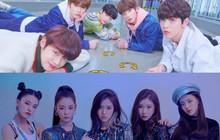 """Không chỉ giới thiệu """"gà mới"""" chung thời điểm, JYP và Big Hit còn sử dụng chung phương pháp nhá hàng độc đáo này"""