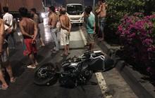 Thanh niên đi mô tô chết thảm sau cú tông vào đuôi xe container dừng trên quốc lộ 1A