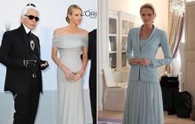 Ít ai biết Karl Lagerfeld đã làm trang phục cưới cho nàng dâu Hoàng gia, và đây chính là bộ đồ cưới đặc biệt nhất lịch sử xứ Monaco