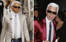 Phong cách của NTK Karl Lagerfeld qua năm tháng: ngoài màu đen còn rất nhiều điều thú vị, riêng cặp kính râm là gần như bất biến