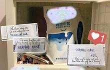 Thầm thích cô bé khóa dưới, đàn anh bí mật tặng cô một hộp sữa mỗi sáng kèm lời nhắn siêu dễ thương