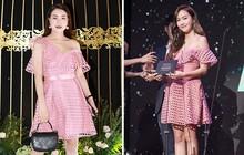 Tham phụ kiện rườm rà, Trà Ngọc Hằng sến súa khi đụng lại váy 2 năm trước với Jessica Jung và cả loạt mỹ nhân