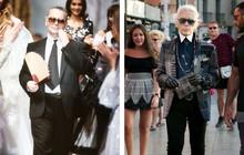 Ít ai biết Karl Lagerfeld là tác giả của một chế độ ăn kiêng giúp ông giảm tới 40kg/năm