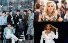 Nhìn vào con số này để thấy BTS đã trở thành nghệ sĩ Hàn đầu tiên sánh ngang với Madonna, Beyoncé và loạt sao US-UK