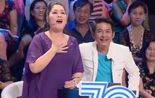 """NSND Hồng Vân thẳng thừng """"từ chối"""" Lý Hùng, khen chồng trên sóng truyền hình"""