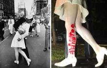 'Nụ hôn ở Quảng trường Thời đại' bị chỉ trích là quấy rối tình dục sau hơn 7 thập kỷ từ Thế chiến II