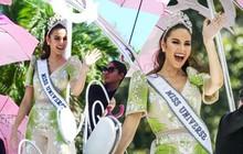 Catriona Gray đẹp tựa nữ thần trong ngày về nước, được 5 triệu người dân Philippines xuống đường chào đón