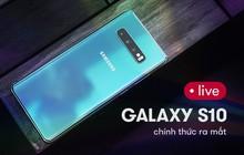 Samsung Galaxy S10 ra mắt cùng loạt siêu phẩm: Màn hình vô cực mới, camera AI chụp rộng hơn cả mắt người