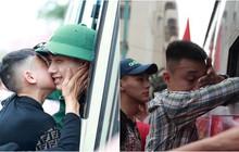 Ảnh: Những giọt nước mắt xúc động trong ngày hội bàn giao nhận quân tại Nghệ An