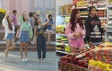 """Loạt ảnh 3 mỹ nhân Kpop cùng vi vu mua sắm tại siêu thị, """"sống ảo"""" ở nhà thờ Đà Nẵng bất ngờ gây bão"""