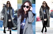 Đi sân bay thôi mà hot đến tận hôm nay, Kim So Hyun đang khiến dân tình bấn loạn vì đôi chân cực phẩm