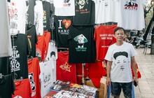 In áo phông hình 2 nhà lãnh đạo Donald Trump và Kim Jong-un, cửa hàng ở Hà Nội kiếm tiền triệu mỗi ngày