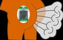 Sản phẩm lạ: Thoải mái xì hơi nơi công sở với miếng xốp hút mùi thông minh
