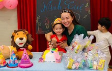 Hải Băng tổ chức sinh nhật tròn 2 tuổi cho con gái lớn khi đang mang thai lần 3