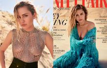 """Làm vợ người ta, Miley Cyrus vẫn """"thả rông"""" táo bạo trên tạp chí và tiết lộ lý do cưới Liam vì một người phụ nữ?"""