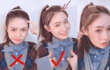 Gái Hàn, Trung để tóc đuôi ngựa đẹp mà không hề già chính là nhờ thủ thuật đơn giản này