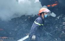 Cháy lớn thiêu rụi xưởng sản xuất lốp ôtô rộng hàng nghìn mét vuông