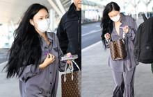 Trở mặt nhanh như netizen Hàn: bình thường chê Hwasa tả tơi, nay thấy cô mặc đồ lụa đi dép lông ra sân bay lại bênh tới tấp