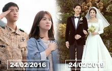 Không phải kỷ niệm ngày cưới, nhưng hôm nay lại vô cùng đặc biệt với cặp đôi Song Joong Ki và Song Hye Kyo