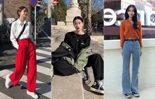 Tết nếu chưa chụp được kiểu OOTD chất chơi nào, bạn hãy tham khảo street style của giới trẻ Hàn để triển ngay cho kịp