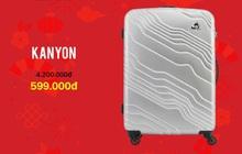 Vui tết, về nhà trên hết – giảm đến 75% tất cả sản phẩm vali giá chỉ từ 599.000đ