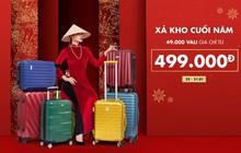 """Cuối năm cận kề, hốt ngay vali """"giá rẻ vô địch"""" – Chỉ từ 499K cho chuyến về quê ăn Tết thôi nào!"""
